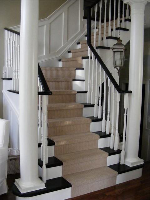 Лестница из ясеня К-034М - купить в Санкт-Петербурге